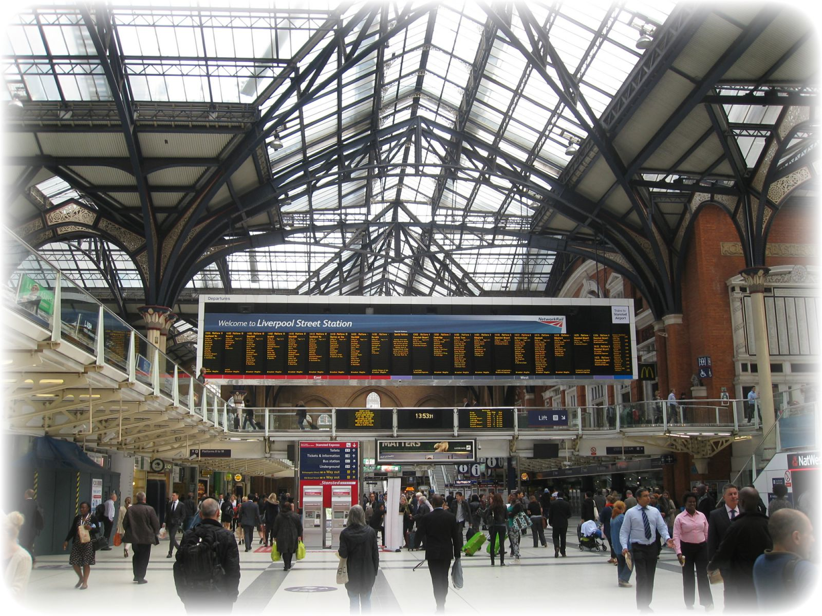 Liverpool St Station, City of London